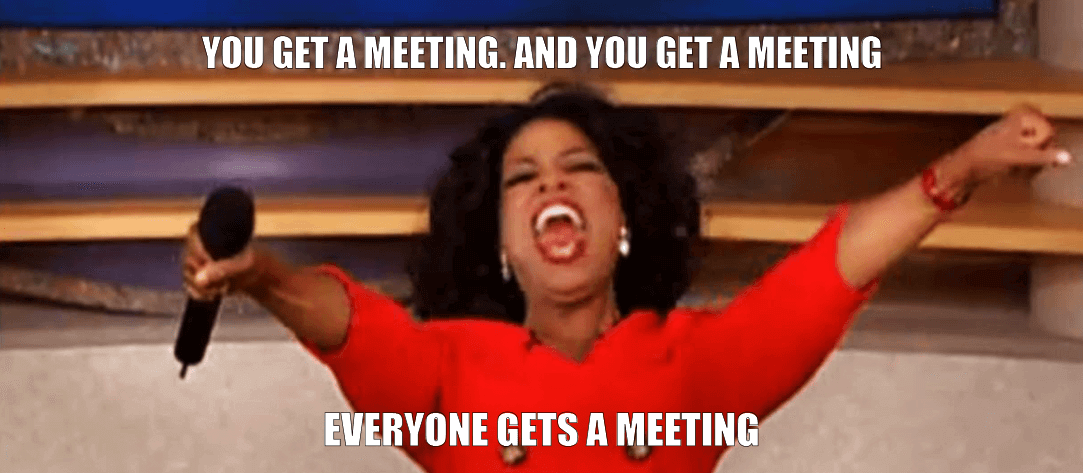 Oprah meetings meme