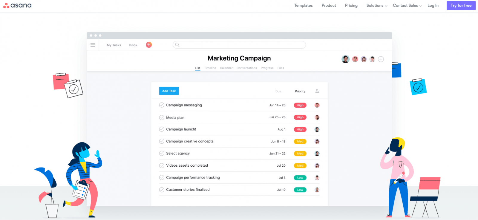 Asana: task management software