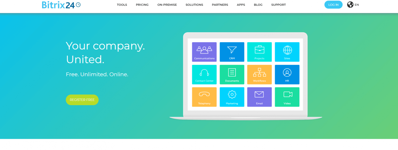Bitrix 24: task management software