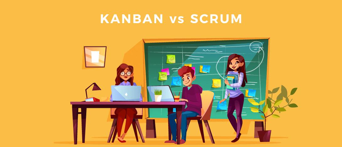 Kanban vs Scrum, nTask, scrum vs kanban, scrum and kanban comparison