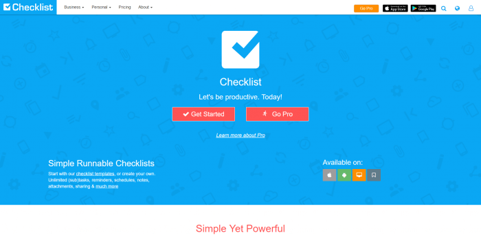 Checklist best to-do list apps