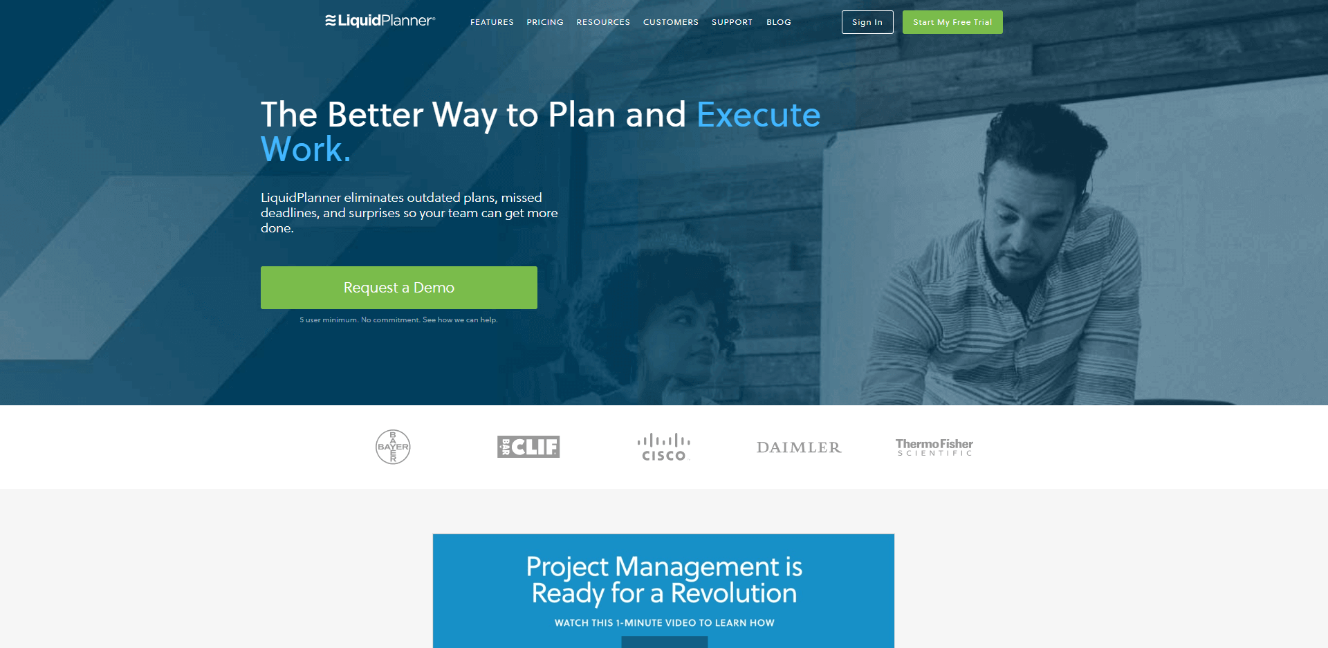 Liquid Planner is the better way to plan and execute work