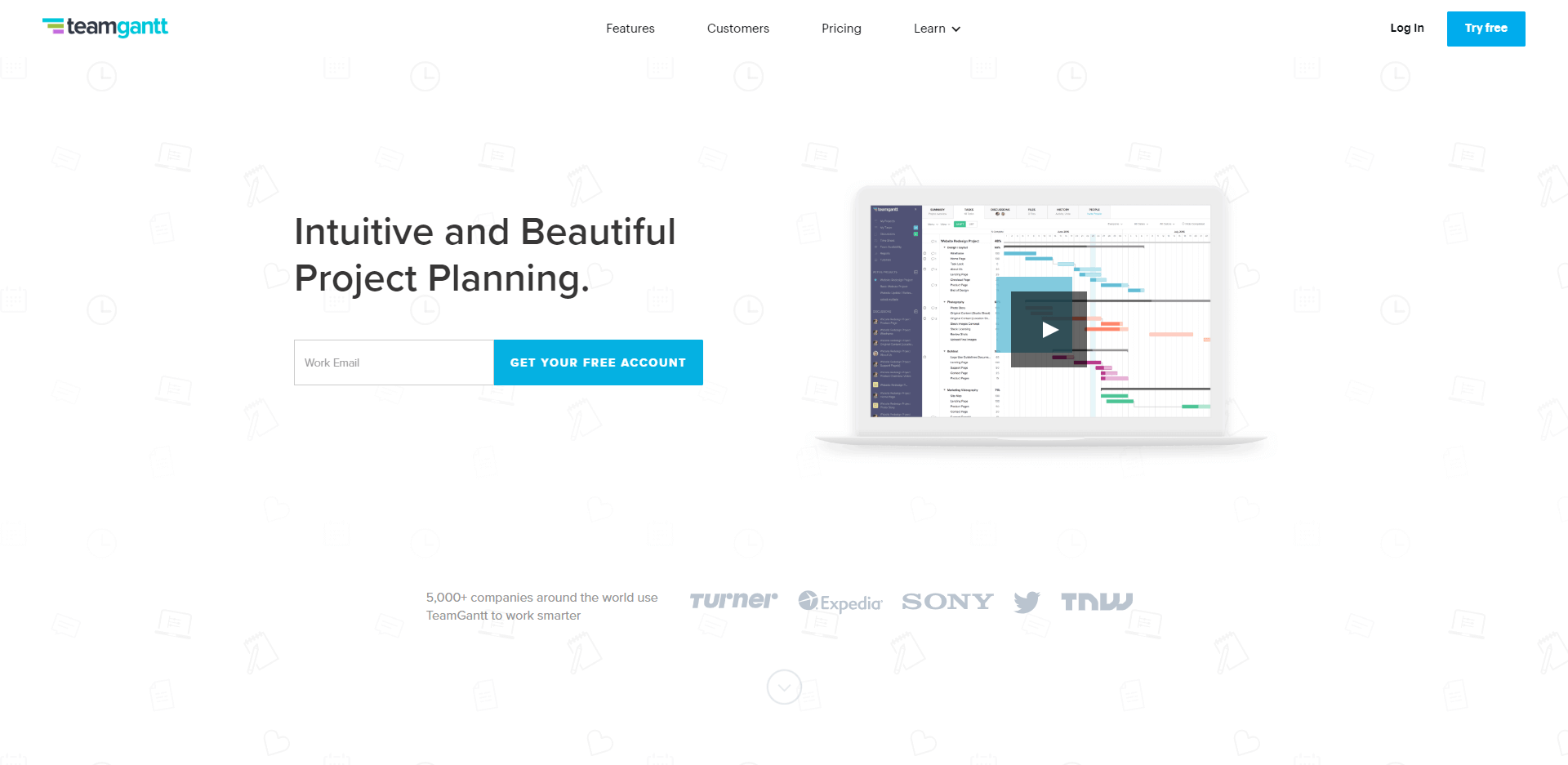 TeamGantt is an intuitive and beautiful project planning tool