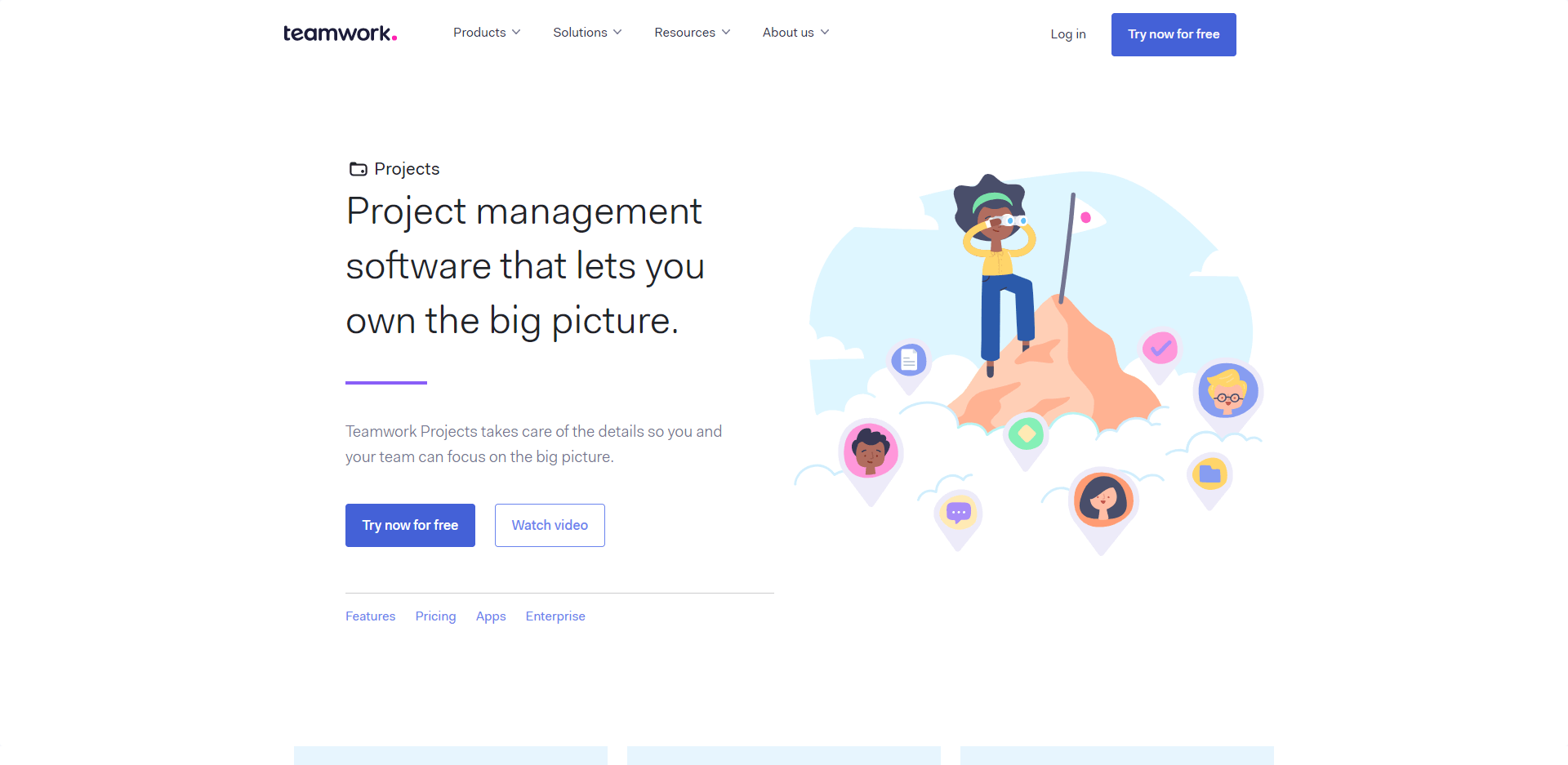 Teamwork is the project management software that lets you own the big picture