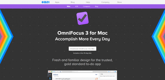 best to-do list apps Omnifocus