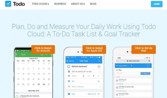 Appigo: Plan, Do and Measure your daily work using Todo Cloud: A to-do task list & Goal Tracker