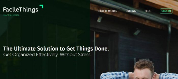 FacileThings: The Ultimate Solution to Get Things Done
