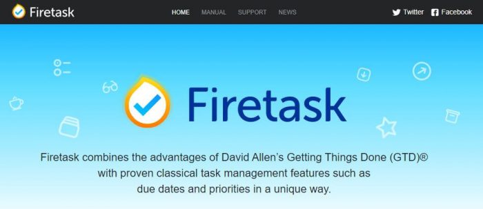 FireTask: Combines the advantages of David Allen's Getting Things Done (GTD) with proven classical task management features such as due dates and priorities