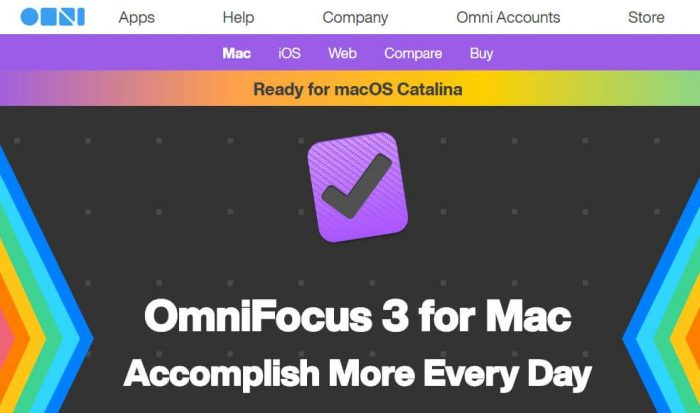 OmniFocus 3 for mac: Accomplish more every day