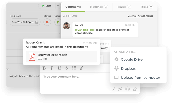 Files and Attachments