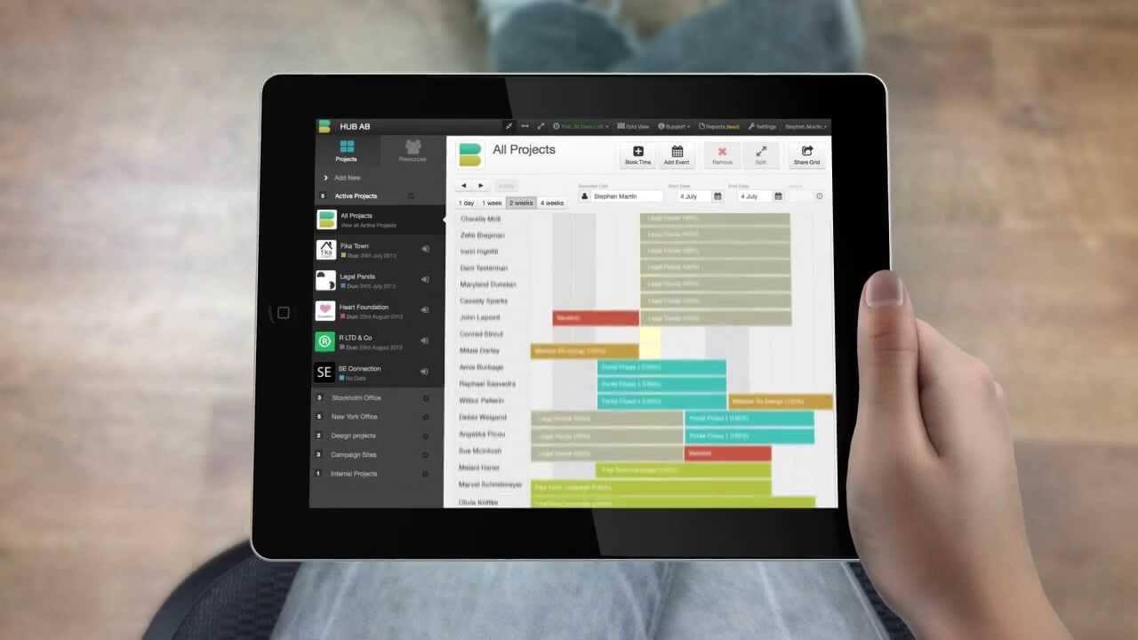 Resource Management Software - Hub Planner