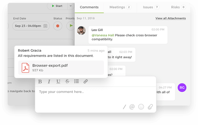 Task Comments