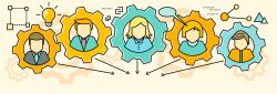 communication skills are like cogs in a big machine