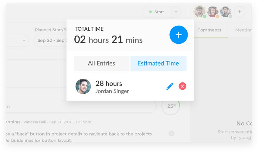 Time Estimations