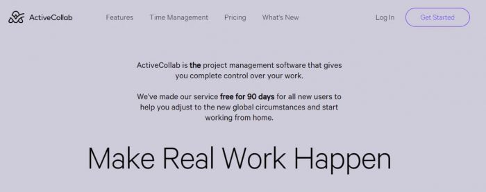 ActiveCollab: Make Real Work Happen