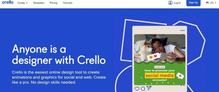 Small Business Productivity Apps - Crello