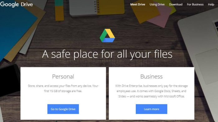 Google Drive: A safe place for all your files