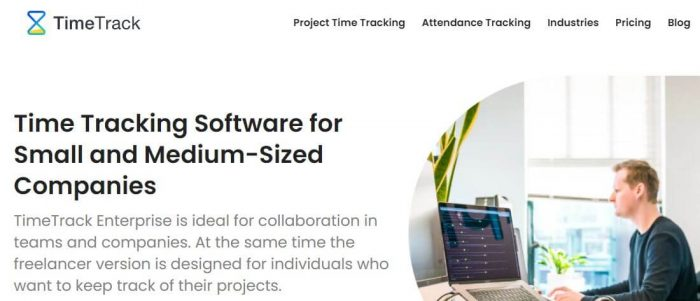 TimeTrack - Top Time Tracking software