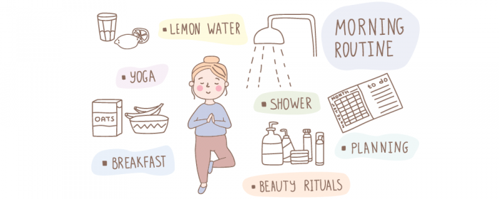 build a morning routine