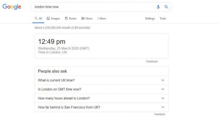 Google city time