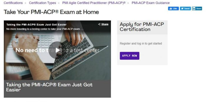 PMI-ACP - Project management certification