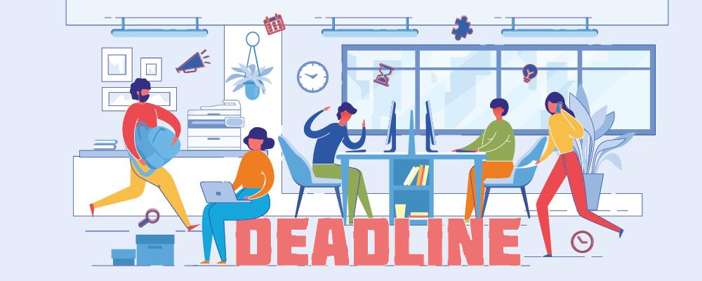 Tips to meet Deadlines