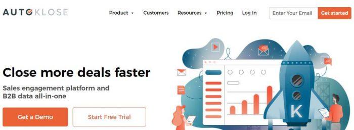 Autoklose - sales tools