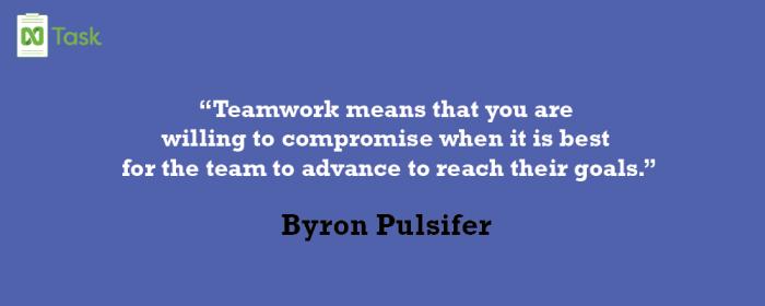 Byron Pulsifer _ best teamwork Quotes-01
