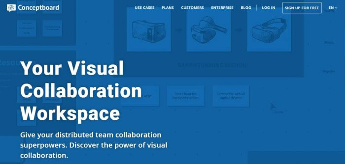 ConceptBoard - best project management software