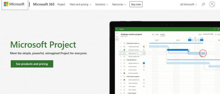 Microsoft project - best project management software