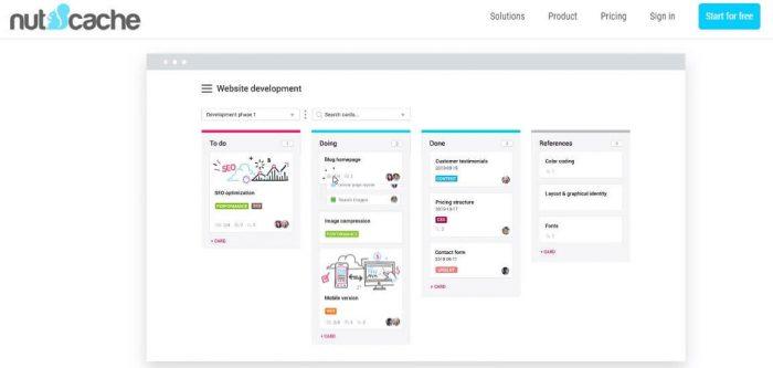 Nutcache - Best project management software