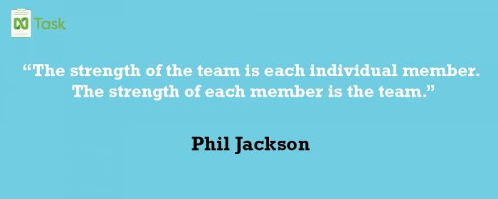 Phil Jackson _ Best teamwork quotes