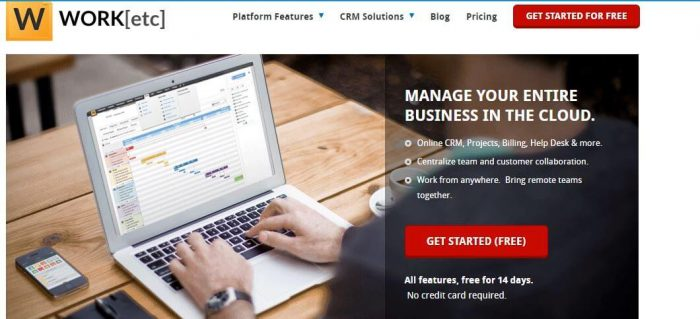 WORKetc - best project management software
