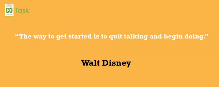 Walt Disney _ Best teamwork Quotes