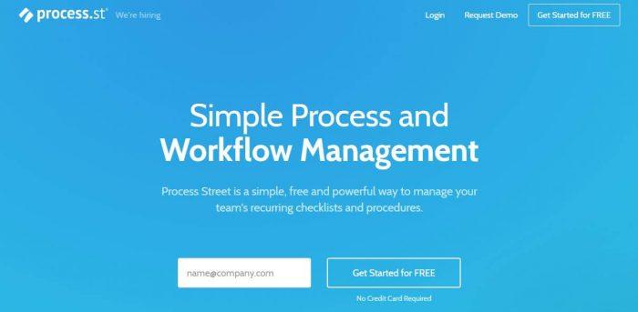 Process Street - best process street alternatives