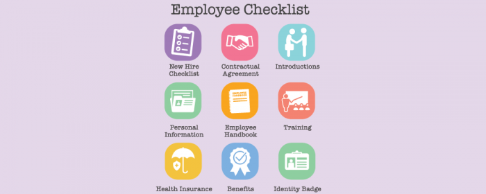 employee onboarding checklist rules and steps