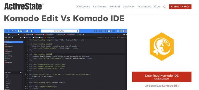 komodo best code editor