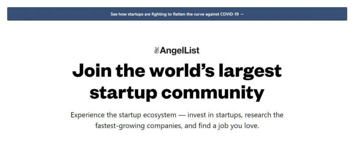 AngelList - tools for small business