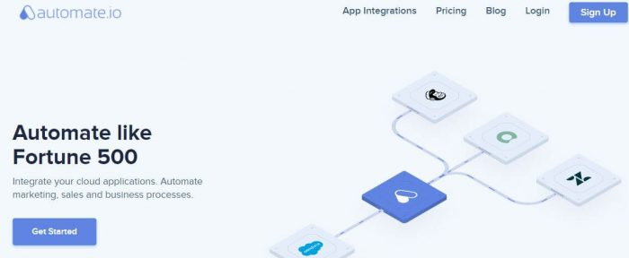 Automate.io - tools for small business