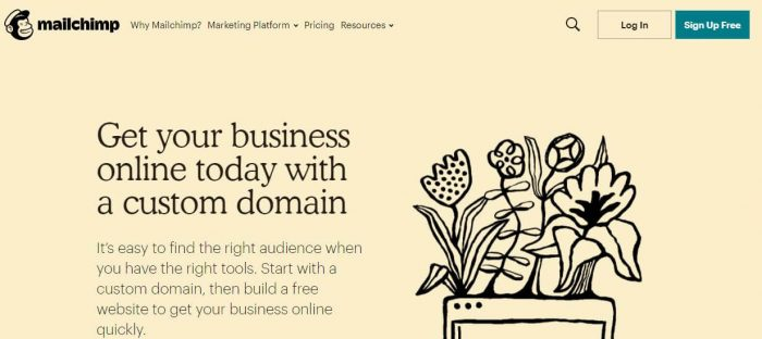 Mailchimp - tools for small business