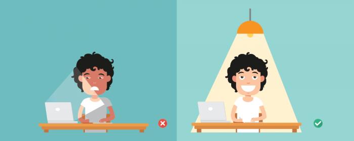 office lighting - productivity studies