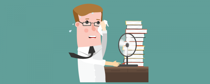 office temperature - productivity studies