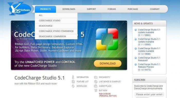 Codecharger simple software development platform