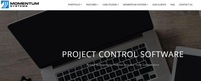 Momentum Project management system