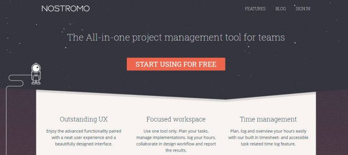 Nostromo agile project management software