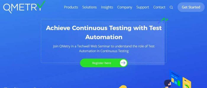 QMetry - continuous testing automation tool
