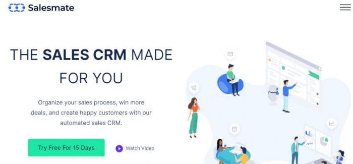 Salesmate: The Sales CRM Made for you