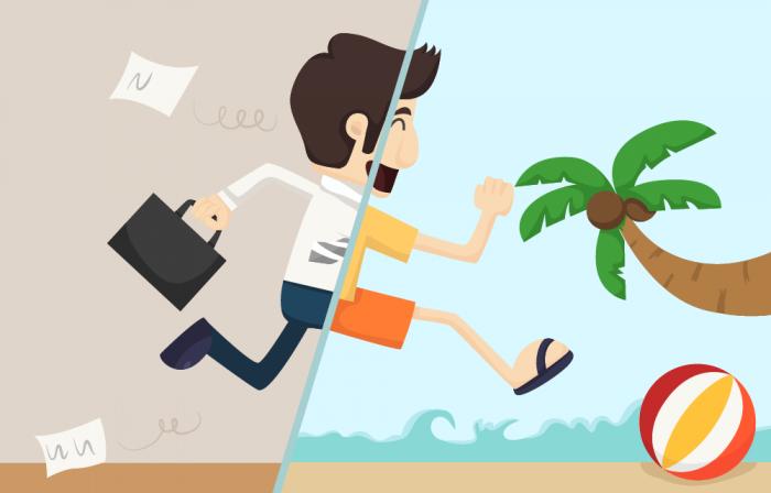 Take vacation