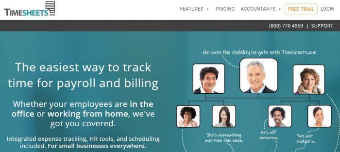 Timesheet dot com timesheet software