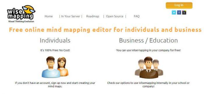 Wisemapping: Free online mind mapping editor for individuals and business